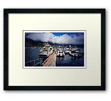 Cape Town Docks Framed Print