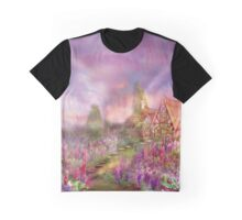 Lupine Cottage Graphic T-Shirt