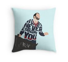 Never Forgive You Throw Pillow