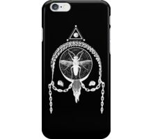 Gothic Occult Design - Devil's trap with All-Seeing Eye  iPhone Case/Skin