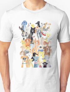 Dogs dogs dogs Unisex T-Shirt