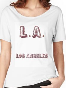 L.A: Los Angeles Women's Relaxed Fit T-Shirt