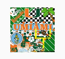 UNIVERSITY OF MIAMI COLLAGE Unisex T-Shirt