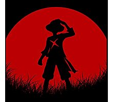 one piece red moon Photographic Print
