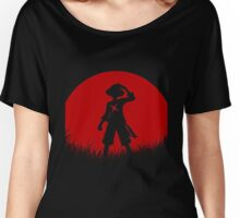 one piece red moon Women's Relaxed Fit T-Shirt