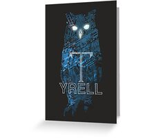 Tyrell Owl Greeting Card