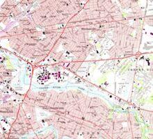 USGS TOPO Map New Jersey NJ Camden 254236 1967 24000 Sticker