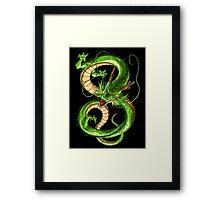 shanlong dragon ball Framed Print