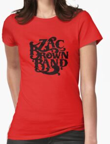 Zac Brown Band Merchandise Womens Fitted T-Shirt