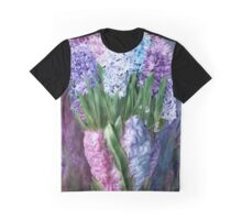 Hyacinths In Hyacinth Vase 1 Graphic T-Shirt