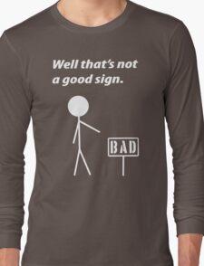 Funny Humor Retro Geek Nerd Long Sleeve T-Shirt
