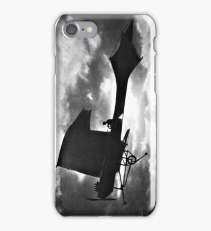 Early Airplane Flight - Backlit iPhone Case/Skin