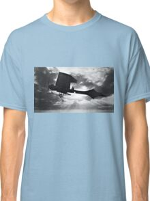 Early Airplane Flight - Backlit Classic T-Shirt
