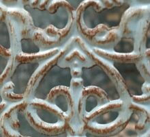 Abstract Metalwork Sticker