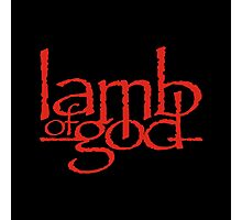 Lamb Of God Metalcore Merch Photographic Print
