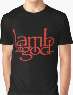 Lamb Of God Metalcore Merch Graphic T-Shirt