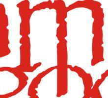 Lamb Of God Metalcore Merch Sticker