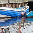 """Ocean Reward"" Whitby coble by Woodie"