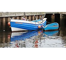 """Ocean Reward"" Whitby coble Photographic Print"