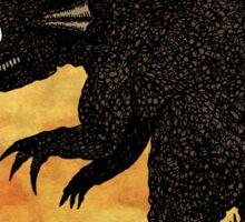 Kaiju and Boat Sticker