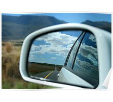 Road Reflection Poster