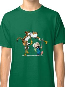 hobbes and calvin time advanture Classic T-Shirt
