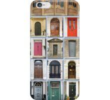 Doors of London iPhone Case/Skin
