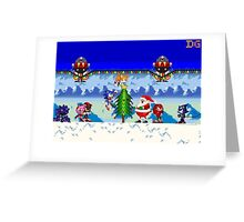 Winter Sonic Greeting Card