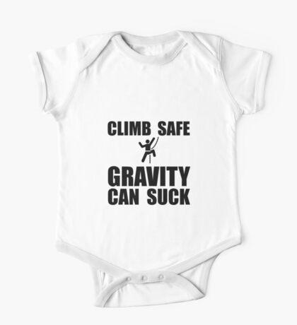 Climb Safe Gravity Can Suck One Piece - Short Sleeve