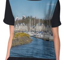 Kip Village Marina at Greenock, Inverclyde Chiffon Top