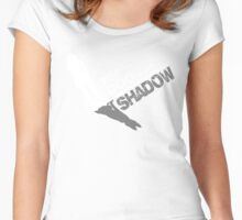 My dog is my Shadow Women's Fitted Scoop T-Shirt