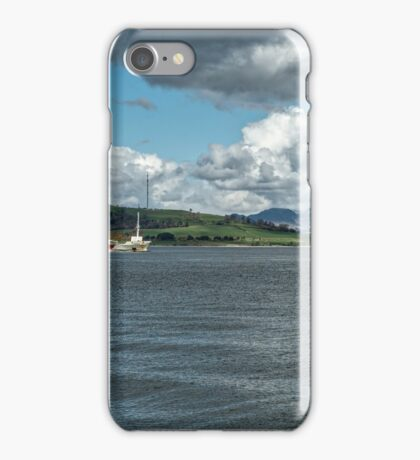 The River Clyde at Greenock, Scotland iPhone Case/Skin