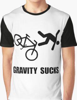 Gravity Sucks Bike Graphic T-Shirt