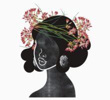 Wildflower Crown III One Piece - Short Sleeve