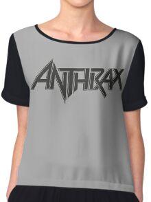 Anthrax Logo Thrash Metal Chiffon Top