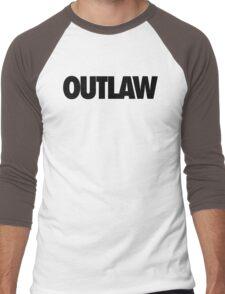 OUTLAW Men's Baseball ¾ T-Shirt