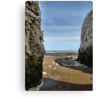 Between the rocks Canvas Print
