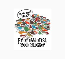 Professional Book Blogger - Multi Unisex T-Shirt