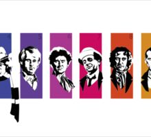 Doctor Who Through the seasons Sticker