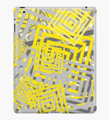 YG Abstract Geometric  iPad Case/Skin