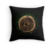Avatar earth element Throw Pillow