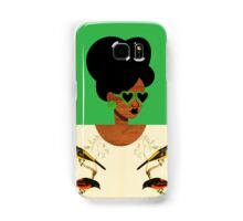 Green Glasses Postcard Girl Samsung Galaxy Case/Skin