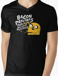 Makin' Bacon Pancakes Mens V-Neck T-Shirt