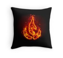 Avatar fire element Throw Pillow
