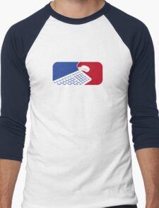Geek Sport - National Gamers Association  Men's Baseball ¾ T-Shirt
