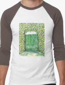 God opens doors Men's Baseball ¾ T-Shirt