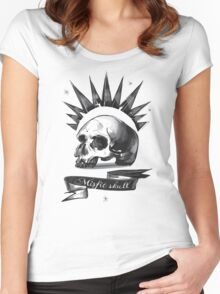 Misfit Skull – Chloe Price, Pricefield Women's Fitted Scoop T-Shirt