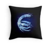 Avatar water element Throw Pillow