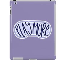 play more iPad Case/Skin