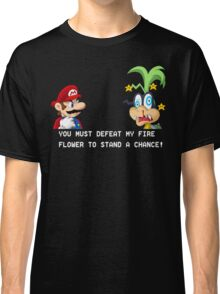 Super Street Fighter Mario Classic T-Shirt
